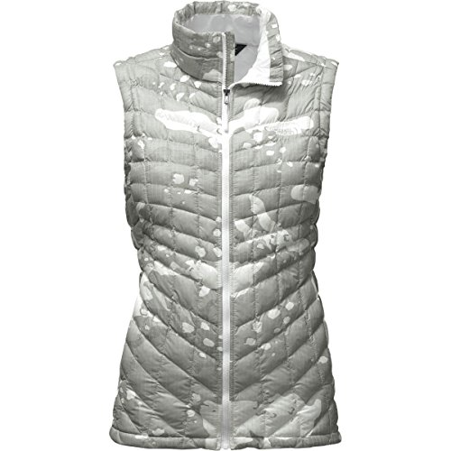 Tnf Print Femme Face Thermoball Woodchip Gilet The Pour North White wqanUwAx