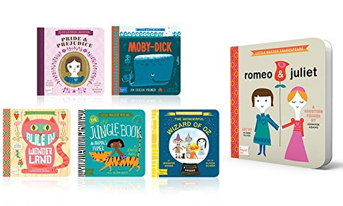 The Classic Baby Lit Collection Boxed Set - Romeo & Juliet, Wizard of Oz, Sherlock Holmes, Pride & Prejudice, Moby Dick, Jane Eyre, Alice in Wonderland, Jungle Book