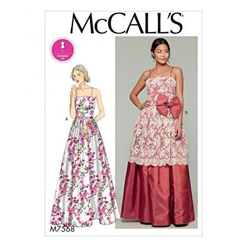 Unbekannt McCall \'s Damen Schnittmuster 7568nbsp;ausgestattet Mieder ...