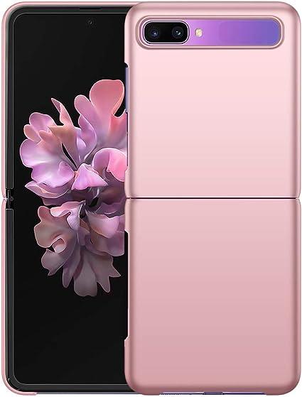 Yiiway Samsung Galaxy Z Flip Case Rose Gold Very Thin Elektronik