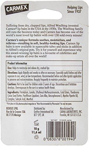 Carmex Lip Balm Ingredients - 9
