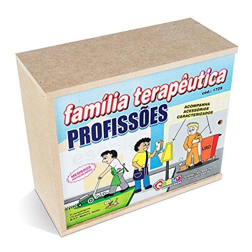 Família Terapêutica com Caracterização Carlu Brinquedos