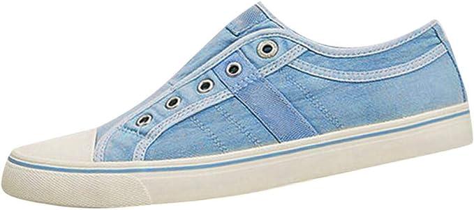 Zapatos Mujer Cuña,VECDY2019 Moda Zapatillas Zapatillas De Deporte ...