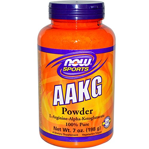 NOW Sports AAKG Pure Powder, 7-Ounce Aakg Powder