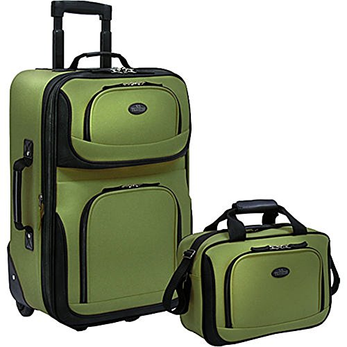 us-traveler-rio-two-piece-expandable-carry-on-luggage-set-green