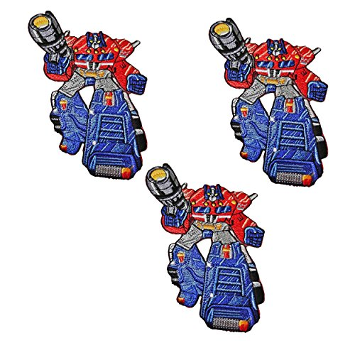 Optimus Prime Transformers Set Of 3 Patches]()