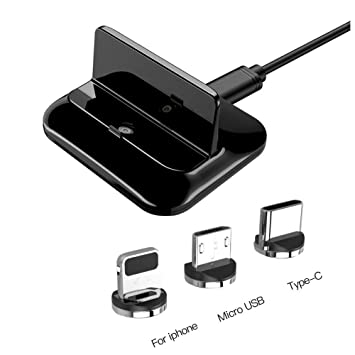 iBâste Cargador Magnético para Dock para Apple O Android ...