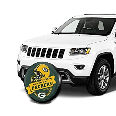 Kanteband Spare Tire Cover Pittsburgh Steelers Weatherproof Tire Protectors Universal Spare Wheel Tire Cover Fit for Jeep, Trailer, RV, SUV, Truck and Many Vehicle: Sports & Outdoors