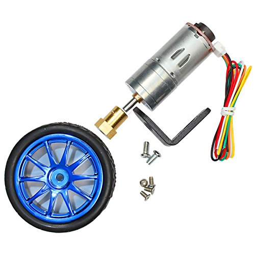 6V 210RPM Encoder Motor DC Gear Motor with Mounting Bracket and - Encoder Bracket