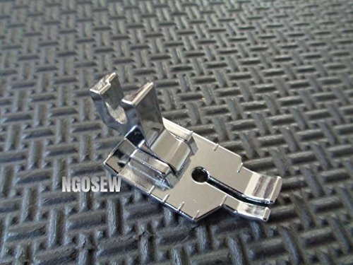 - Brother ¼ Inch Piecing Foot for Quilting and Topstitching, SA125, Silver