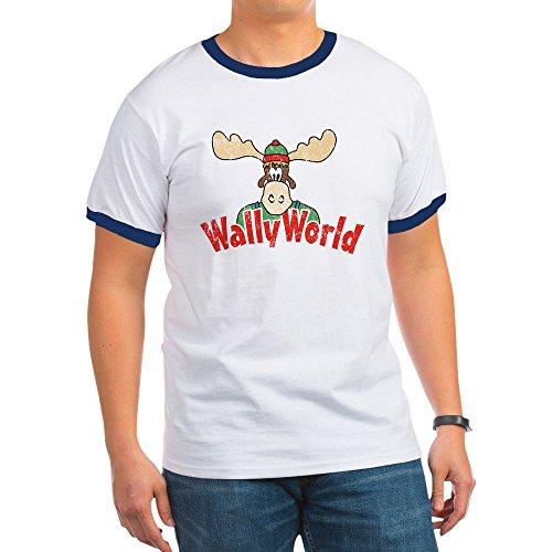 (CafePress - Wally World Vintage T-Shirt - Ringer T-Shirt, 100% Cotton Ringed T-Shirt, Vintage Shirt)