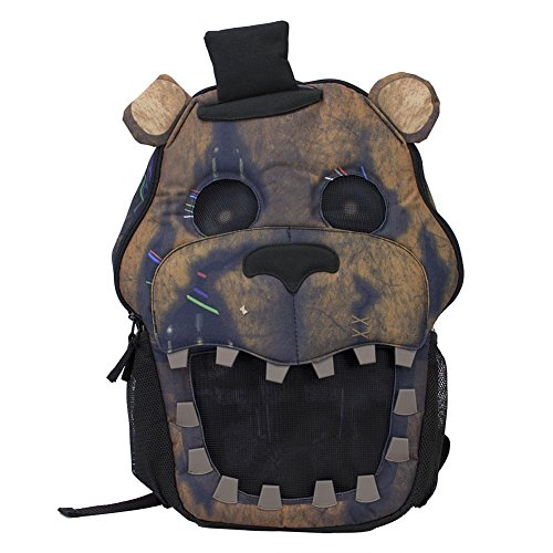Five Nights at Freddy's 3D Big Face Backpack by Bioworld