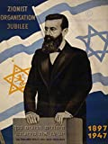 Wee Blue Coo Zionism Theodor Herzl Star David Flag Palestine Poster Art Print