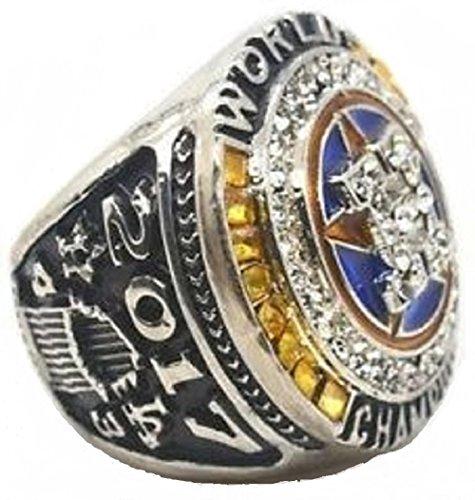 (LetsPlay2 2017 Houston ASTRO'S World Champions Replica Ring (10) Altuve)