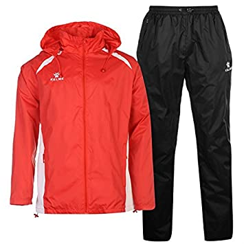 da58f26e Kelme Ladies Women's Football Tracksuit Water Resistance 2 Piece Jacket and  Trousers Size Extra Large: Amazon.co.uk: Sports & Outdoors