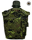 Water Canteen - Canteen & Cover - Canada Army Digital Camouflage - Military & Outdoor Gear - CADPAT (Temperate Woodland)