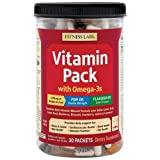 Fitness Labs Vitamin Pack with Omega-3s (30 Packets) Review