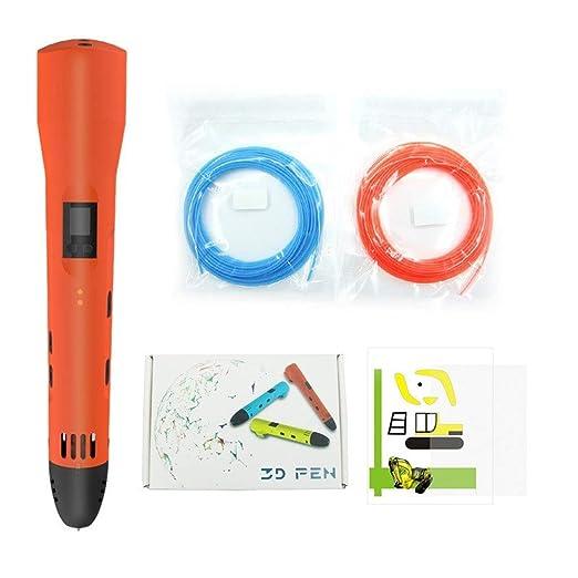 JFCUICAN Impresora 3D Pluma 3D Pantalla LCD de Temperatura de ...