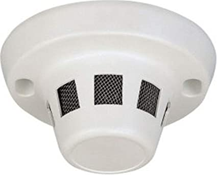 COP Security 15-CH24C Color Pin-Hole Camera in Smoke Detector Case, Sony