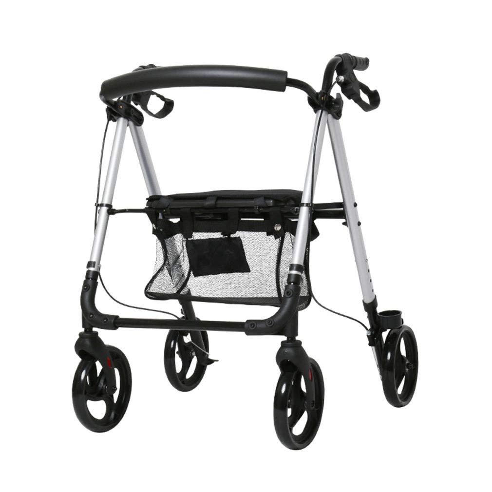 SXXDERTY-caminante Trolley Walker para Ancianos de 4 Ruedas ...