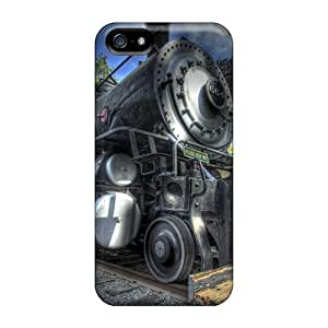 Premium Protection Steamtrain Case Cover For Iphone 5/5s- Retail Packaging