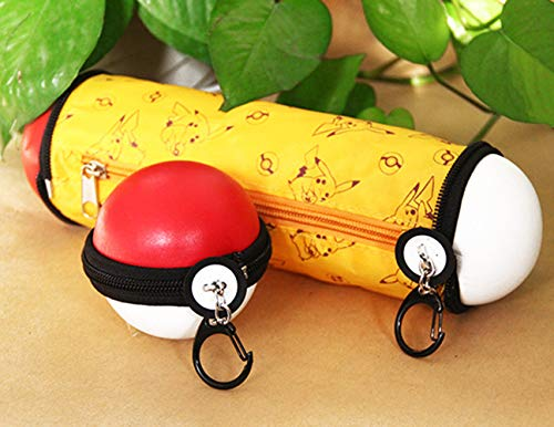 Pocket Monsters Ball Pen Bag Pikachu Pencil Case Gift for Child Back to School