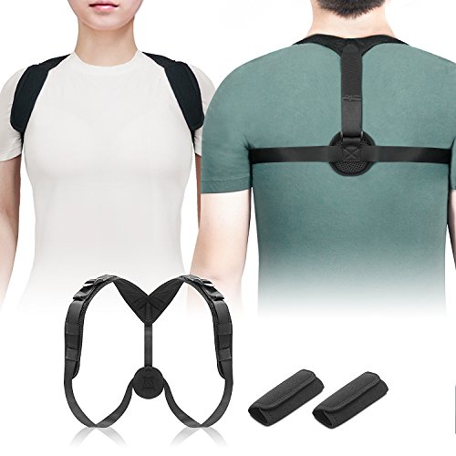 Ostekin Posture Corrector for Men Women [Upgraded], Adjustable Posture Support Brace | Clavicle Support Brace for Hunchback & Slouching, Comfortable & Breathable by Ostekin