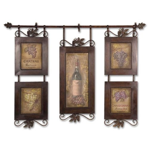 Uttermost Hanging Wine Collage by Uttermost