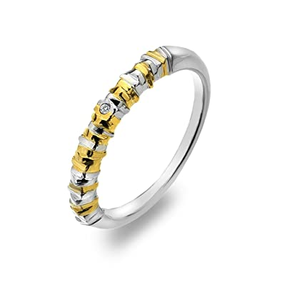 Hot Diamonds By the Shore Yellow Gold Plated Accents Ring D52YQL