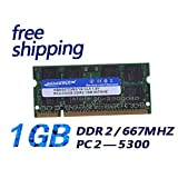 HAMISS for Sealed DDR2 667 1GB (for All Motherboard) Mhz PC2 5300 1GB 200pin for Laptop Notebook RAM Memory