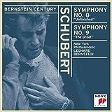 """Schubert: Symphonies Nos. 8 """"Unfinished"""" & 9 """"The Great""""(Bernstein Century)"""