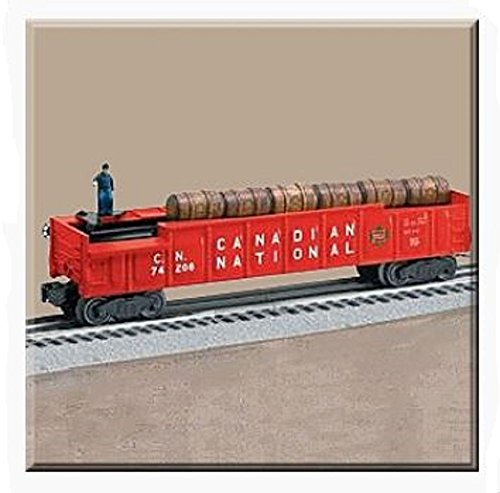 LIONEL TRAINS CANADIAN NATIONAL BARREL CAR 36771