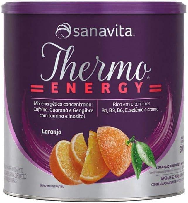 Thermo Energy Termogênico Sanavita 300g Laranja por Sanavita