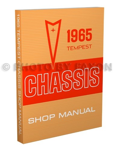 1965 Pontiac Tempest, LeMans & GTO Repair Shop Manual - Pontiac Tempest Convertible