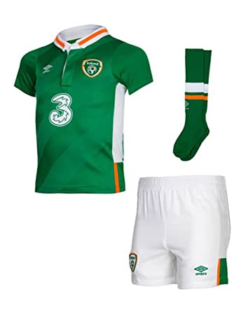 0198108e1da Umbro FAI Euro Republic of Ireland 2016 17 Home Soccer Mini Kit - Baby -