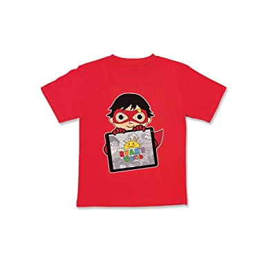 11f199166 Ryan's World Boys Graphic Tee, Children's Shirt for Boys or Toddlers, Kids  Shirts,