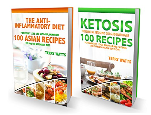 Ketogenic Diet: Over 200 Quick and Easy Ketogenic Diet Recipes for Weight Loss and Keto Clarity: Cookbooks Include Over 100 Mediteranean Recipes & Over 100 Asian Recipes Fit For The Keto Diet by Terry Watts