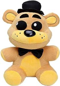 Five Nights at Freddy's Plush Toys Chica Freddy Fazbear Ennard Funtime Foxy Funtime Freddy Nightmare Bonnie Full Ftyle Animales de peluche Regalos para niños, muñecos de juguete multicolor, 8