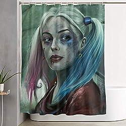 51AoEw9fvnL._AC_UL250_SR250,250_ Harley Quinn Shower Curtains