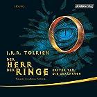Die Gefährten (Der Herr der Ringe 1) Hörbuch von J.R.R. Tolkien Gesprochen von: Achim Höppner