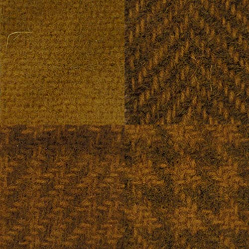 (Primitive Gatherings Hand Dyed Wool Mustard Seed 4 15 inch x 25 inch Cut Pieces Moda PRI 5504)