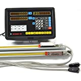 2 Axis Digital Readout Dro for Milling Lathe Machine with Precision Linear Scale by Taishi