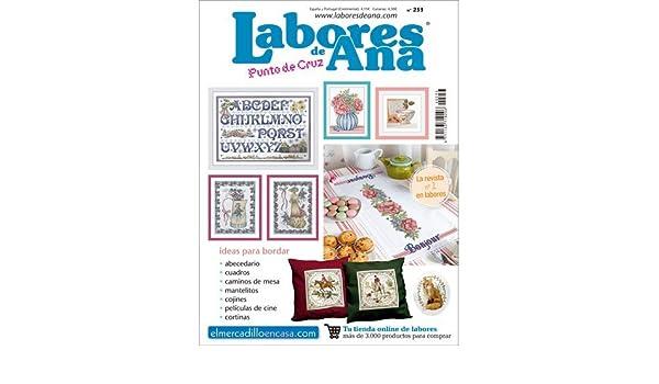 LAS LABORES DE ANA Nº 253 Proyectos para el hogar - Revista de Punto de Cruz: Amazon.es: ALTERNATIVAS PUBLICITARIAS SL: Libros