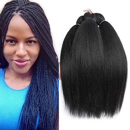 (8 Packs Pre-Stretched Braiding Hair 20
