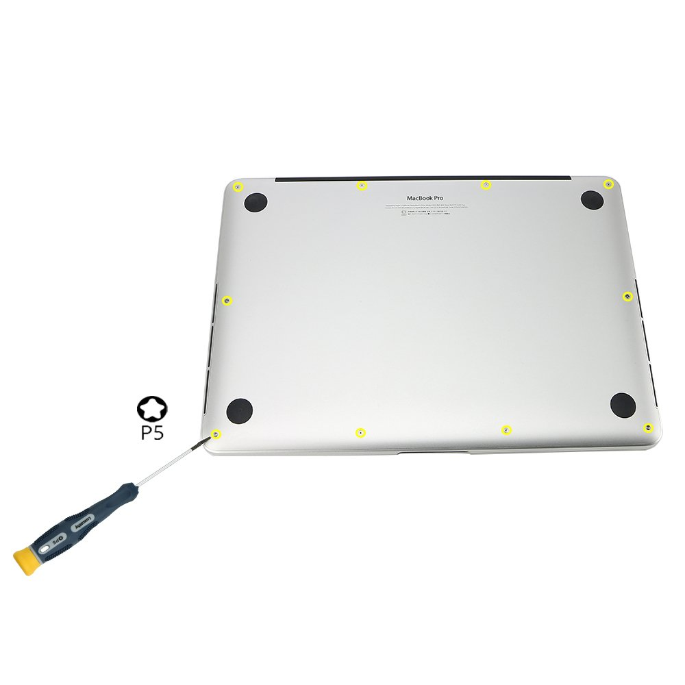 """A1370, A1465 A1369, A1466 Luxcathy P5 Pentalobe Tournevis et inf/érieur Vis pour MacBook Air 11/"""" et 13/"""""""