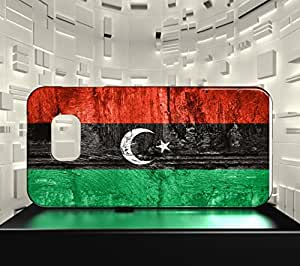 Funda Carcasa para Galaxy S6 Edge Bandera LIBIA 07