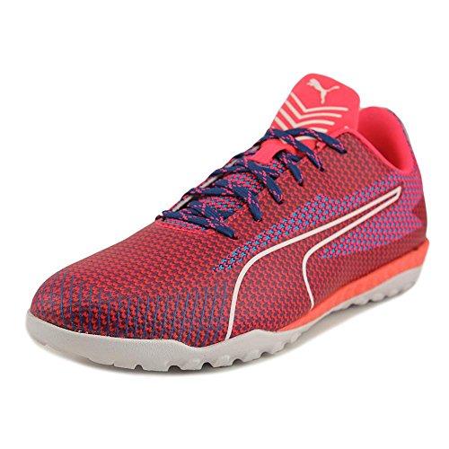 PUMA Men's 365 Ignite ST Soccer Shoe, True Blue White/Bright Plasma, 11 M US (Plasma Feet)