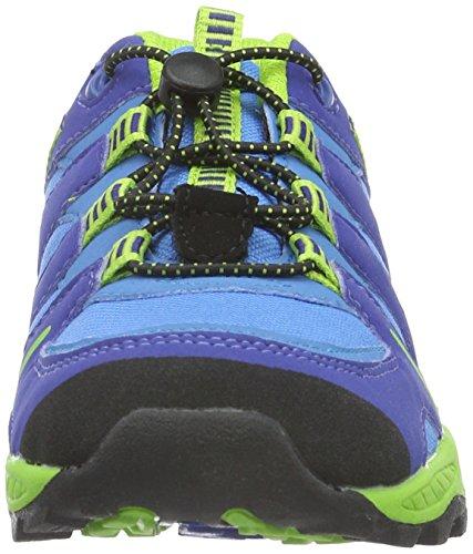 Lico Fremont, Zapatos de Low Rise Senderismo Unisex Niños Azul (Blau/lemon)
