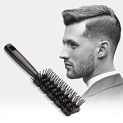 (Hair Brush Hair Styling Brush Or Comb Detangling Brush No More Tangle Professional Salon Styling Brush For All Kind of Hair For Man and Women)