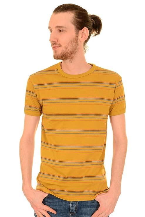 1960s -1970s Men's Clothing Run & Fly Mens 60s 70s Indie Sunset Stripe Retro T Shirt AUD 32.88 AT vintagedancer.com